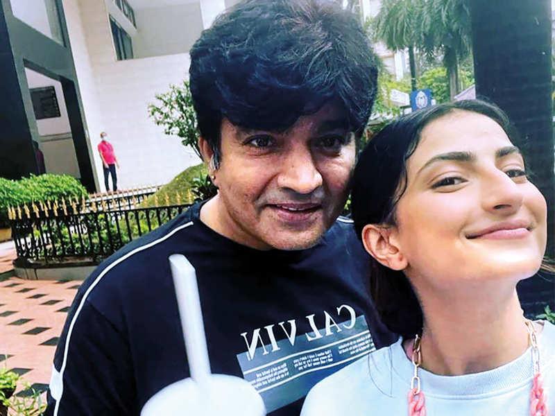 Shweta Tiwari's ex husband, Raja Chaudhary, has relocated to Mumbai to be with his daughter (BCCL)