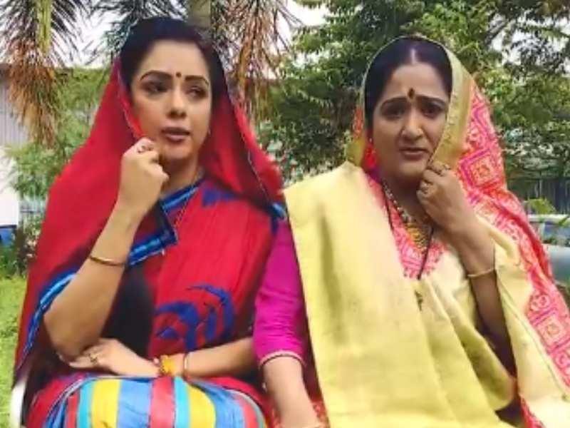 Anupamaa's Rupali Ganguly and 'baa' Alpana Buch's dance on the viral song 'Baspan Ka Pyar' will leave you in splits; watch