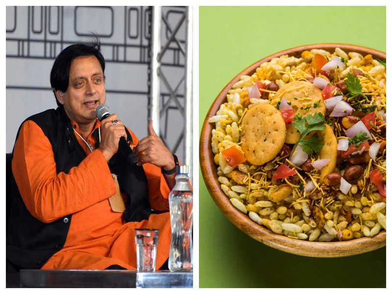 Shashi Tharoor gives Bhel Puri recipe in his iconic style, netizens are flummoxed