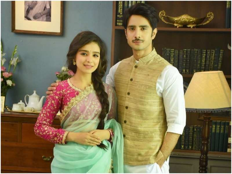 Gracy Goswami and Zaan Khan as Amrit and Randheer in Kyun Utthe Dil Chood Aaye (Instagram)