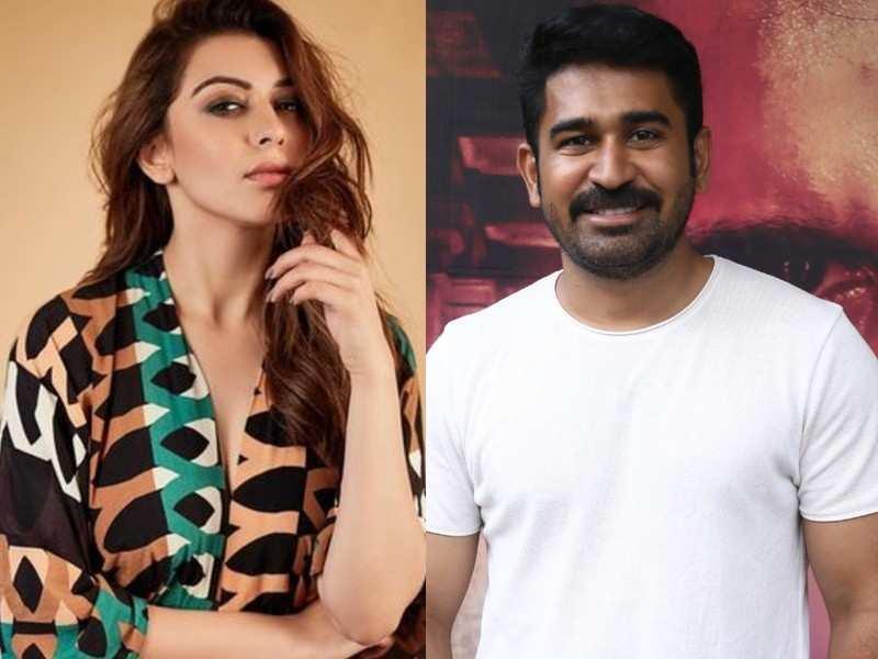 Hansika Motwani to pair opposite Vijay Antony in Vijay Milton's directorial