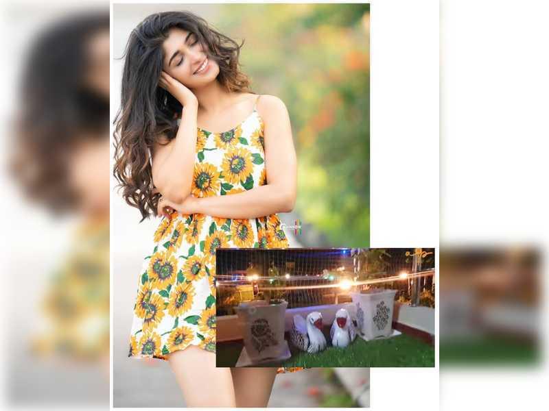 Aditi Prabhudeva gives her balcony a cool DIY makeover