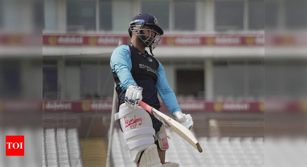 Pant, Team India return to training ahead of England Test series