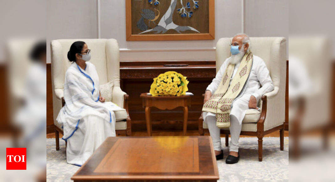 Courtsey visit, says Mamata after her meet with PM Modi