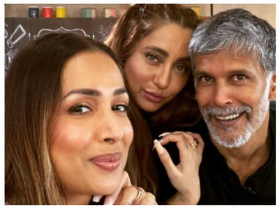 Milind-Malaika reunite, post stunning selfie