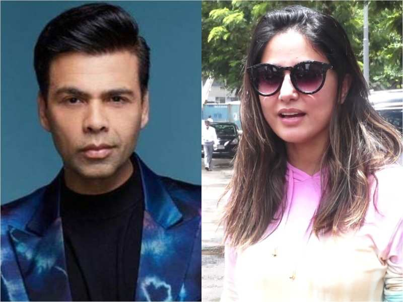 Hina Khan on Karan Johar hosting Bigg Boss OTT:  I am super excited, have always been his fan