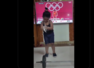 Viral video shows a little girl depicting Mirabai Chanu's Olympic performance