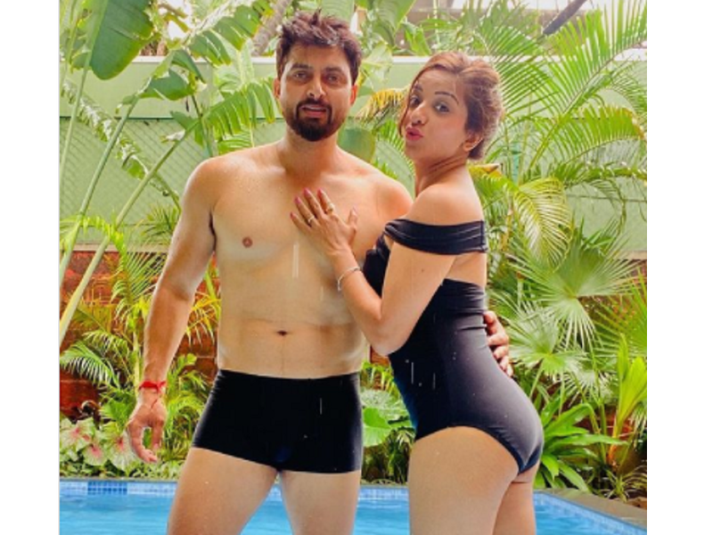 Monalisa shares lovey-dovey photos with husband Vikrant Singh Rajput on his birthday