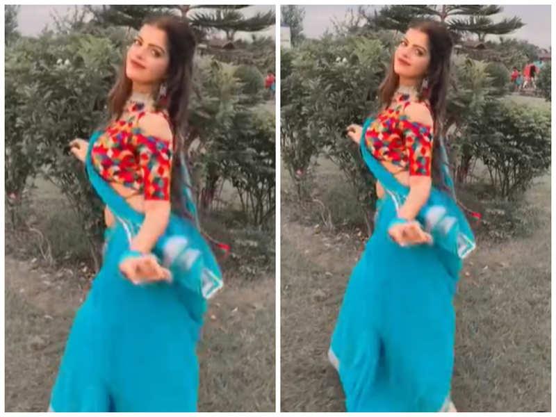 Watch: Prachi Singh dances to the tunes of Madhuri Dixit Nene's 'Badi Mushkil'