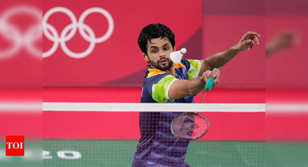 Sai Praneeth crashes out after losing against Mark Caljouw