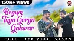 Watch Popular Marathi Song 'Begum Tuya Gorya Galavar' Sung By Sumit Raut And Shubhangi Gaikwad
