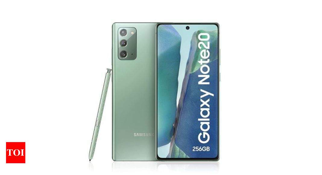 This is now the cheapest Samsung flagship phone you can get with S Pen stylus – Times of India