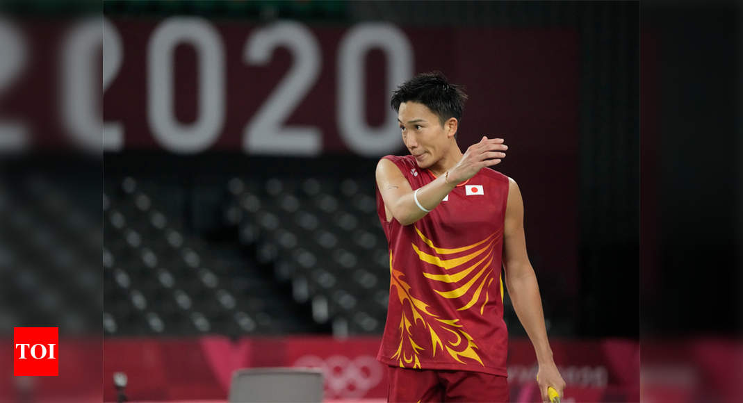 Japan's Olympic badminton top seed Kento Momota out in first round