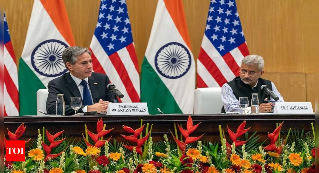 India-US determined to end Covid pandemic through Quad vaccine partnership: Blinken