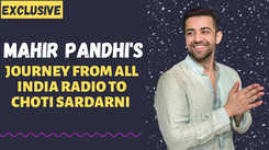 How could one reject Choti Sardarni; it's very exciting: Mahir Pandhi on taking up TV after working for web