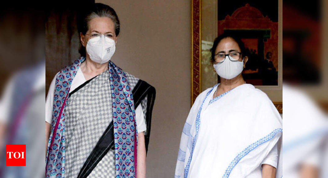 Mamata Banerjee meets Sonia Gandhi amid call for united opposition