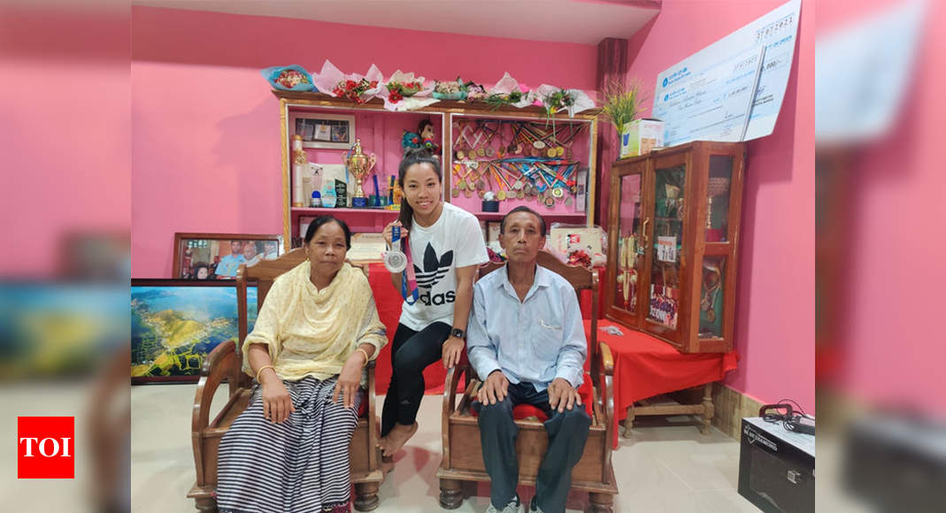 Feeling of meeting family after 2 years is beyond words: Chanu