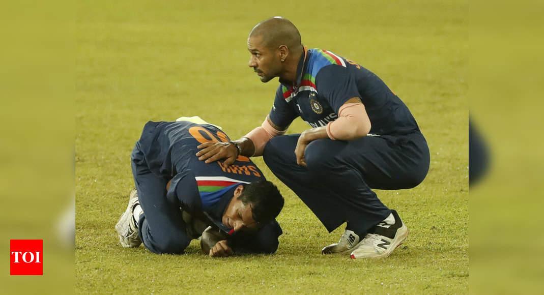 2nd T20I, India vs Sri Lanka: Medical team is handling Navdeep Saini's case, says Paras Mhambrey | Cricket News – Times of India