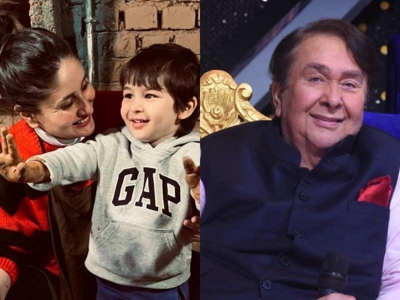 Taimur Ali Khan surprises his nana Randhir Kapoor with a cute gift on Indian Idol 12