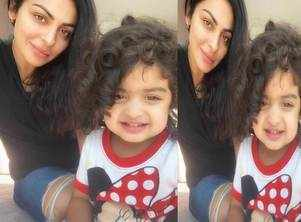 This picture of Neeru Bajwa with her daughter Aalia is the cutest thing you will see today