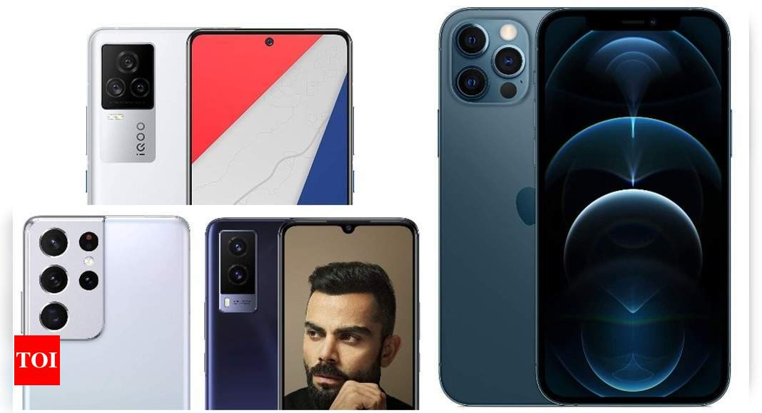 Mobile Savings Days on Amazon: Get up to 40% discount on Samsung Galaxy S21, Mi 10i, Vivo V21e and other smartphones – Times of India