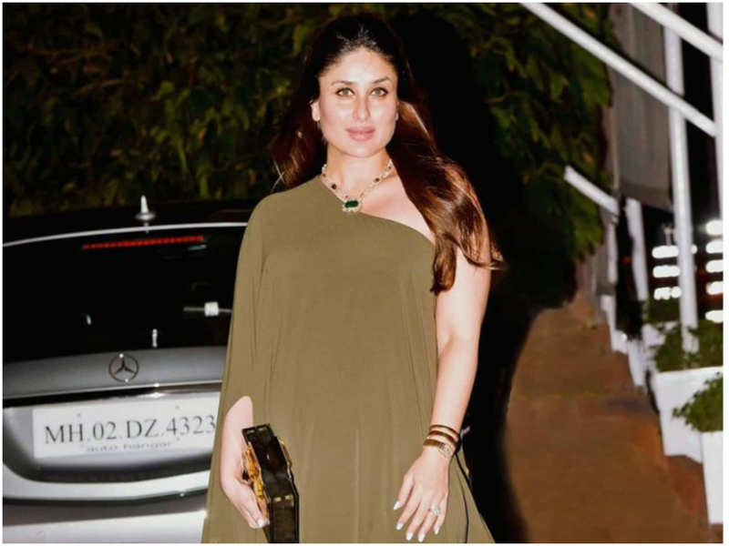 Kareena Kapoor Khan makes a strong case for maternity fashion with this olive dress