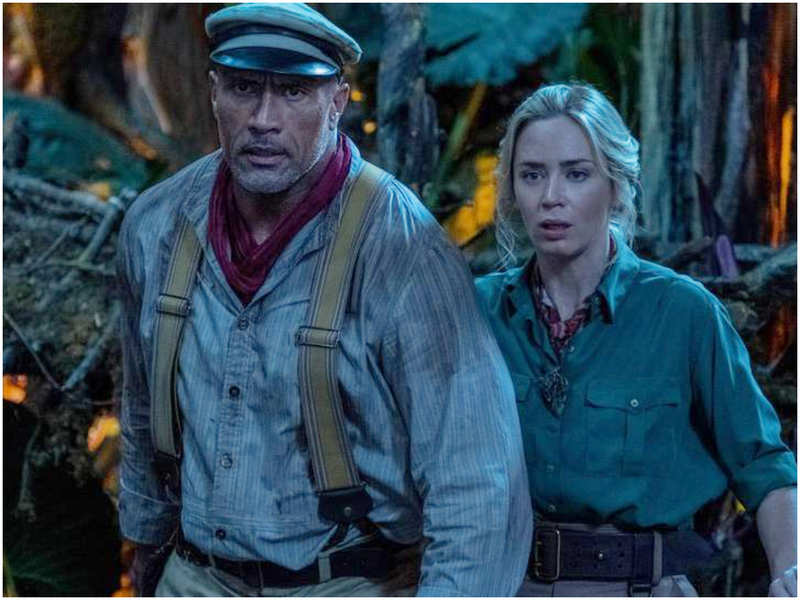 Dwayne Johnson compares Emily Blunt's performance to Indiana Jones