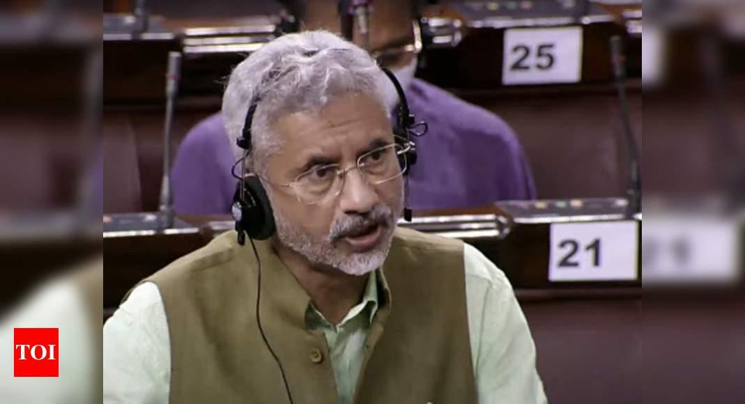 US, India against military takeover of Afghanistan: S Jaishankar in Rajya Sabha | India News – Times of India