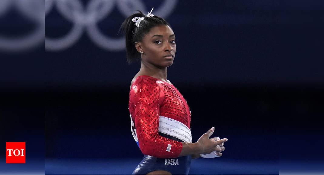 Tokyo Olympics 2020: How the 'twisties' derailed Simone Biles' record bid   Tokyo Olympics News – Times of India