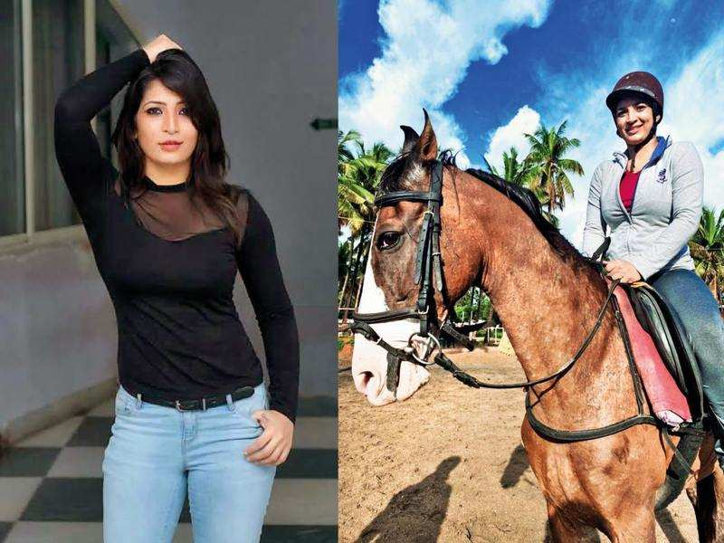 Anita Bhat goes horse riding for her next