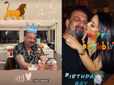 Trishala's b'day post for 'papa dukes' Sanjay