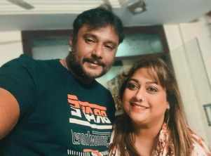 Rakshitha supports Darshan and shares an ode to their friendship