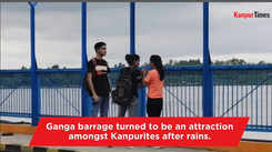 Ganga barrage turns a must visit place for Kanpurites