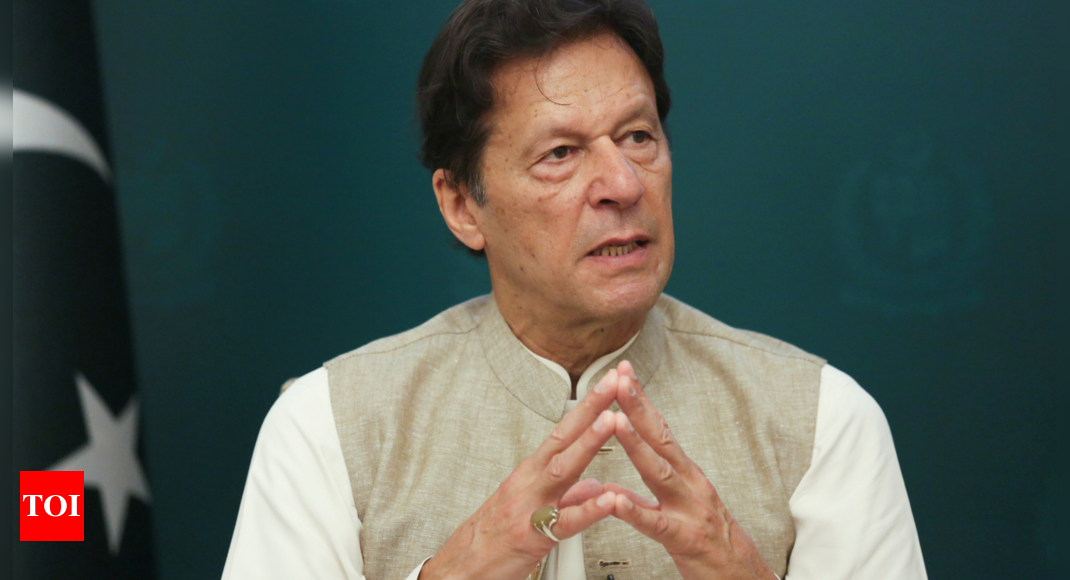 Imran Khan: Pakistan government is not spokesperson for Taliban, says Imran Khan | World News – Times of India