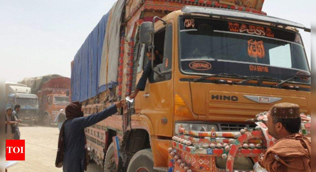 Road to ruin: Double tax and bandits on the Pakistan-Afghan trade route – Times of India