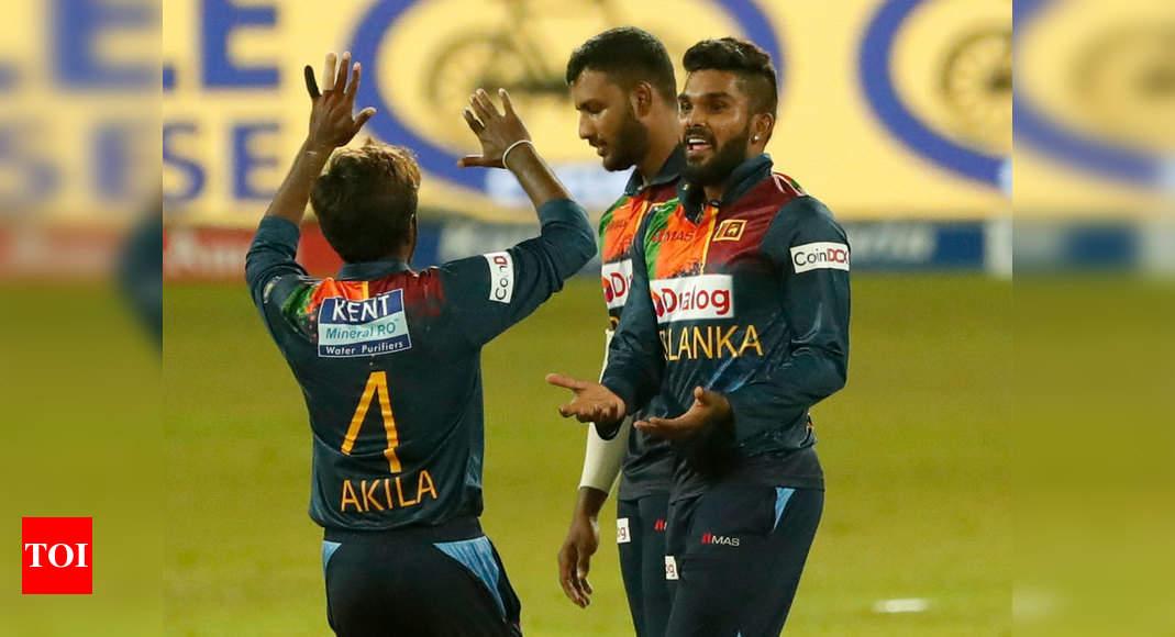 India vs Sri Lanka 3rd T20I Live Score: India suffer batting collapse in series decider