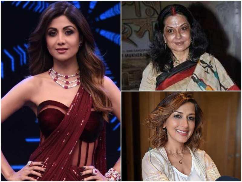 Shilpa Shetty; Moushumi Chatterjee and Sonali Bendre