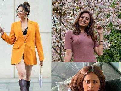 Colours to pick from Sargun Mehta's wardrobe