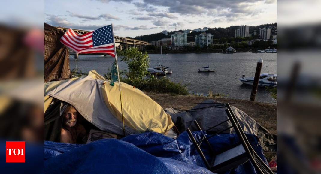 Portland bans homeless camps in forest areas amid wildfires – Times of India