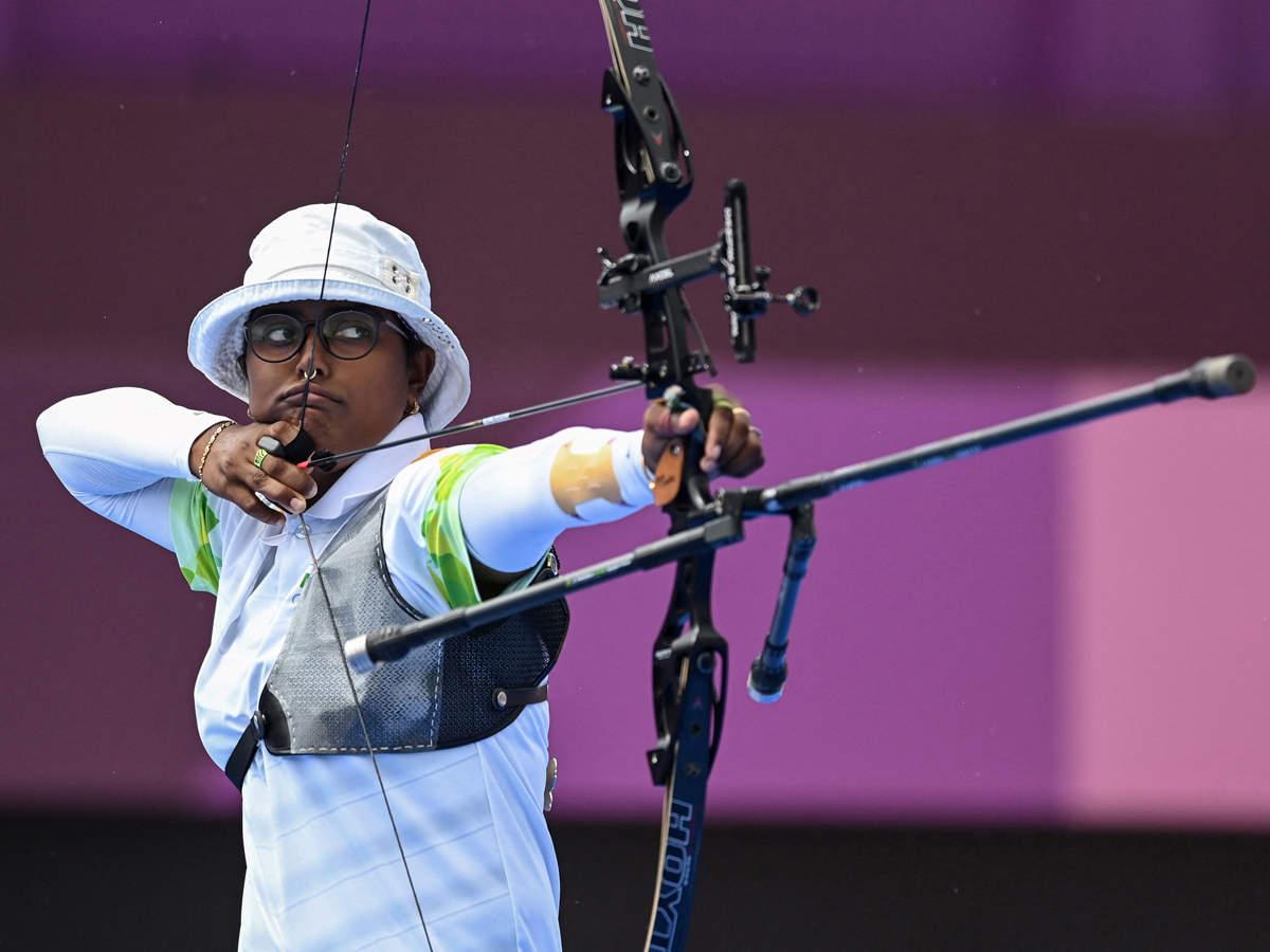 Tokyo Olympics: Deepika Kumari ousts former world champion to enter women's  individual archery quarterfinals | Tokyo Olympics News - Times of India