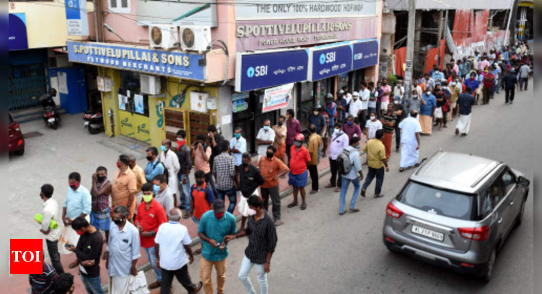 Covid cases in India: After Kerala, Covid spike now in Karnataka, Tamil Nadu | India News – Times of India