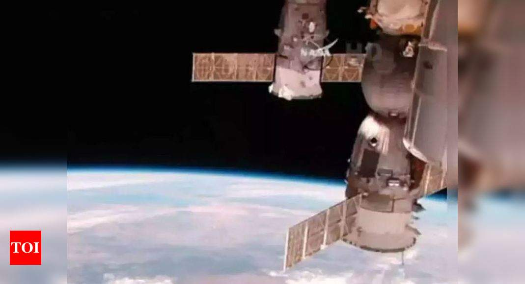 International Space Station briefly thrown out of control by misfire of Russian module: Nasa