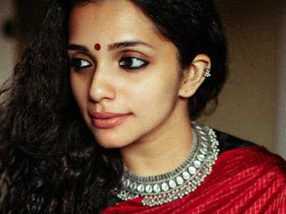 Birthday girl Ann Augustine's best saree looks