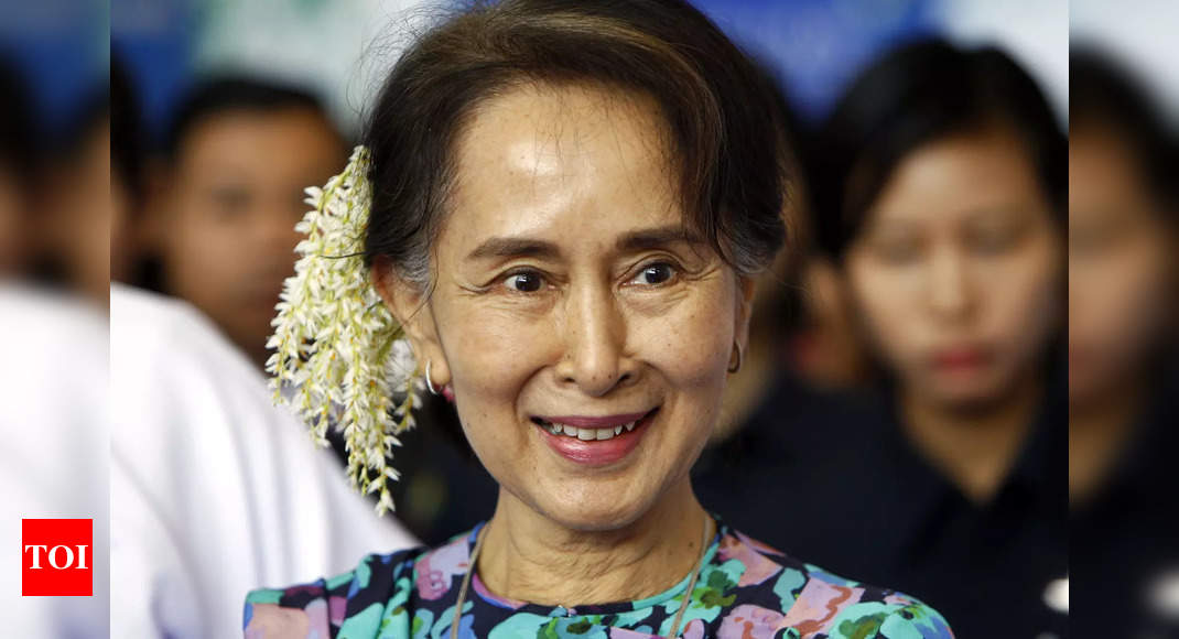 Myanmar democracy movement moves out of jailed Suu Kyi's shadow – Times of India