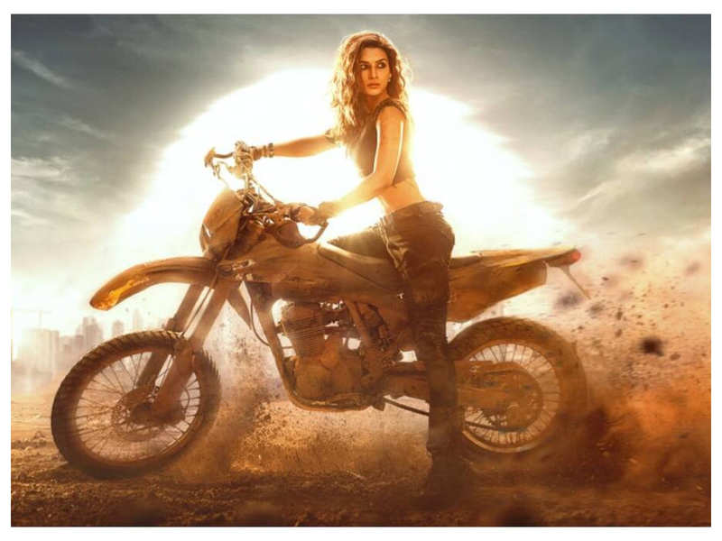 'Ganapath': Kriti Sanon is all set to get trained in dirt biking for the Tiger Shroff starrer
