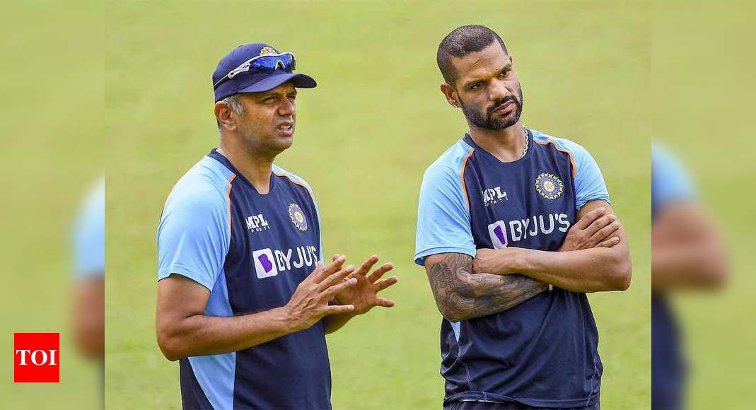 Enjoyed the experience, haven't given thought to anything else: Rahul Dravid on India coach job   Cricket News – Times of India