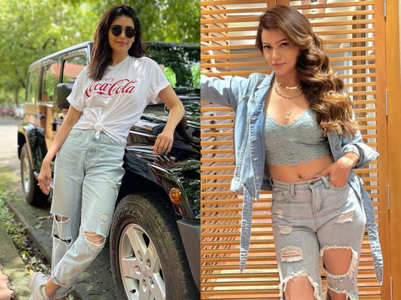 TV celebs ace casual look in jeans and top