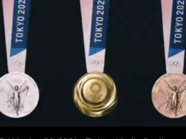 Tokyo 2020: Olympic medals made of old electronic devices