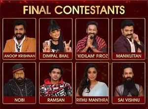 BB: A glance at the journey of 8 finalists