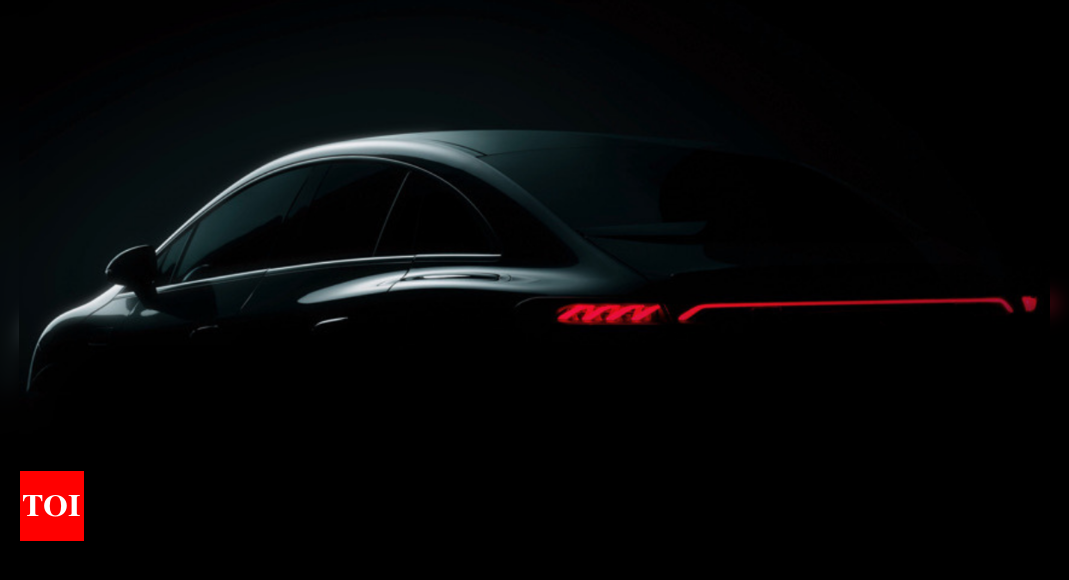 Mercedes Benz EQE EV Launch Date: Mercedes Benz EQE electric sedan teased, launch at IAA 2021 | – Times of India